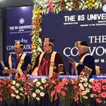 RT @surnell: Earlier today Dr @Swamy39  at Jaipur during the 4th Convocation of The IIS University https://t.co/682PbCH6lv