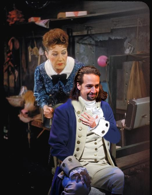 """Happy Birthday to #Mermanda! 🎉🎈 """"YOU'LL BE SWELL. YOU'LL BE GREAT. YOU'LL BLOW US ALL AWAY!""""  @Lin_Manuel #Ham4Rose https://t.co/a0rK740Qby"""