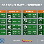 RT @ProKabaddi: The new #ProKabaddi schedule is out, & there's great news for the fans from Vizag! Mark your calendars now! #LePanga https:…
