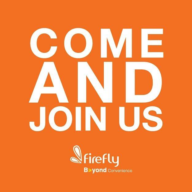 We are looking potential candidates to fill Firefly job vacancy. For more info visit