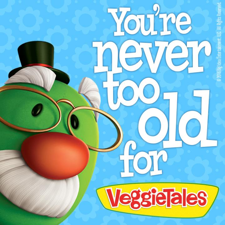 'RT' if you're a VeggieTales fan! #VeggieTales https://t.co/YqMt97W1bN