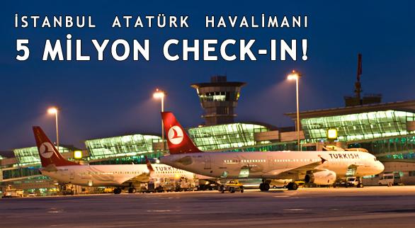 Atatürk Havalimanı'ndaki check-in sayısı 5 milyonu geçti! Bu bir dünya rekoru. https://t.co/slXduFnsGr https://t.co/IKa1Gpjloz