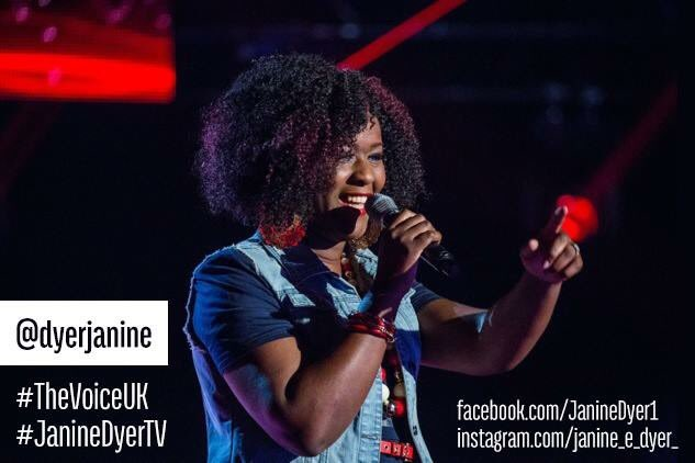 SO PROUD of @dyerJanine << STAR #TheVoiceUk @voiceUKbbc https://t.co/p25WJ6rrTL