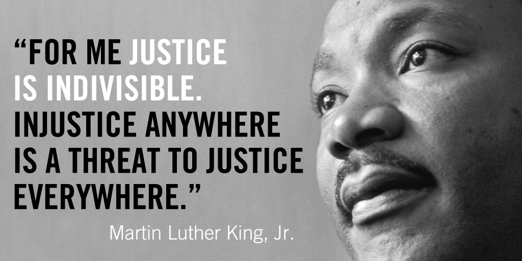 There will be no justice until we level the playing field for all children in US. #MLKDay https://t.co/9yGrXX3cZI https://t.co/iNCKMMF2aL