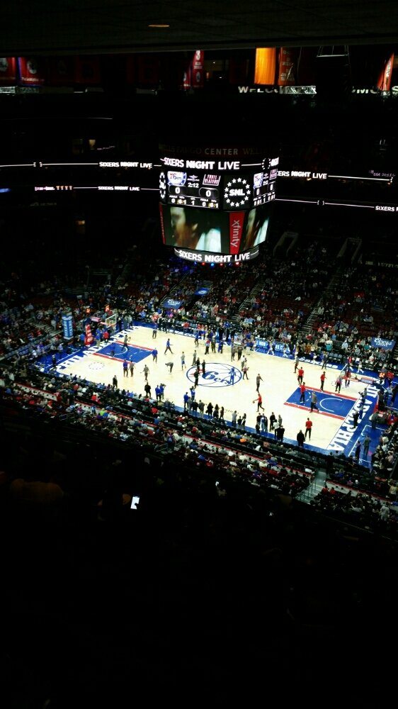 NBA game #1 this year, Sixers-Blazers w/ @eplsb @royaltytoursusa @KingcougarMike @anygameanywhere 55/122 https://t.co/toHvVoVhxA