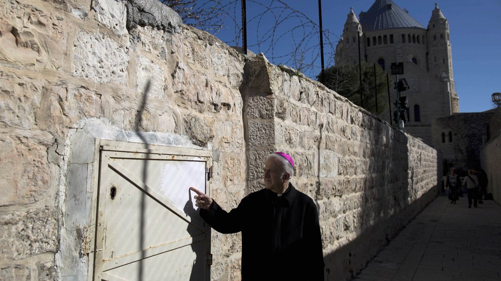 Christian holy site in Jerusalem vandalised with graffiti messages denouncing Jesus