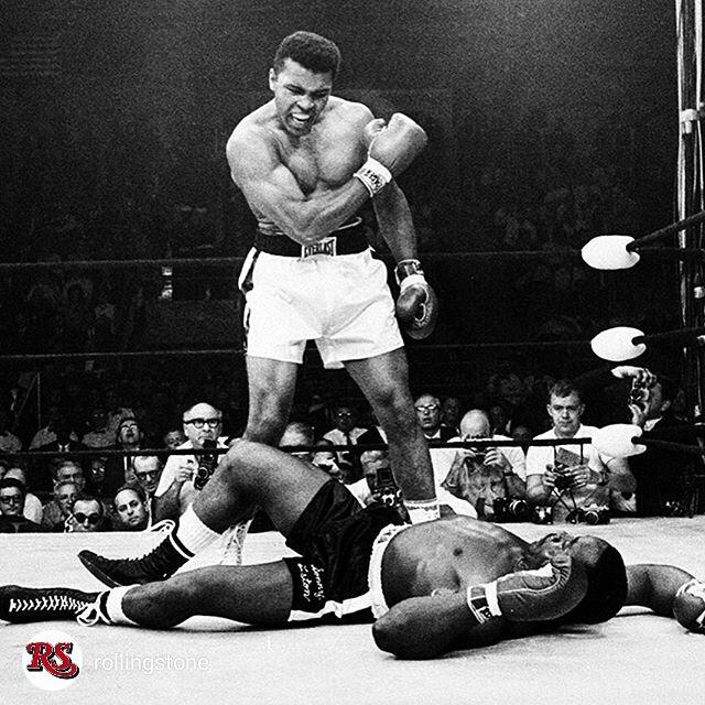 repost @rollingstone HappyBirthday #MuhammadAli! #TheGreatest turns 74 today. https://t.co/M3wP8zulFz
