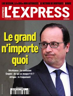 Quand @LEXPRESS  n'a pas d'idée de Une, un petit coup de Hollande bashing avec la photo qui va bien, et hop ! https://t.co/t3fNjj3FgG