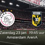Nu op naar zaterdag! Bestel hier je tickets voor #Ajax - Vitesse: https://t.co/NzcNrX90sM#ajavit https://t.co/CjyupDbfMD
