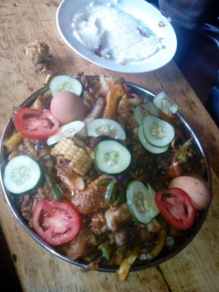 When you ask your Kikuyu bae to make some chicken stew..
