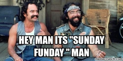 #SundayFunday is amazing what are you doing? https://t.co/bbM8G9T8PF