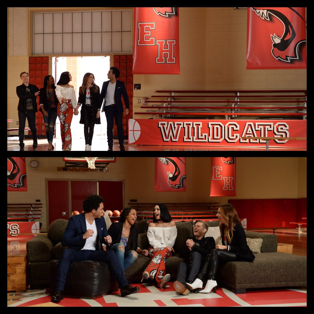 #HighSchoolMusical stars reunite to celebrate 10yrs. Special telecast 1/20 on #DisneyChannel https://t.co/wehawh3FmL https://t.co/llNJ8b7G7V