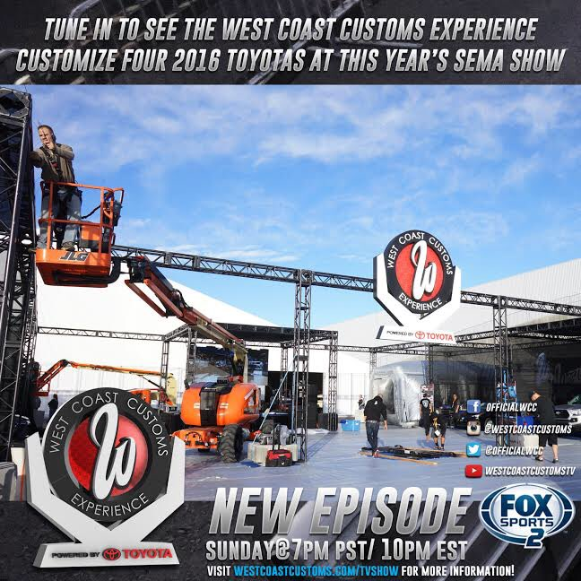 In just a couple of hours ... #westcoastcustomsexperience