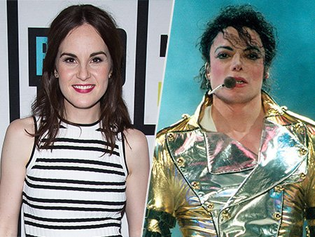 Why did Downton Abbey's Michelle Dockery's last dream involve Michael Jackson?