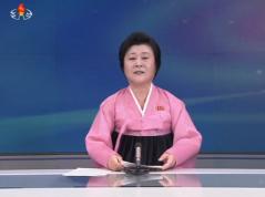 #DPRK TV announcer: Under Kim Jong Un's guidance a miniaturized H-bomb test was a complete success. https://t.co/HvE3ulasin