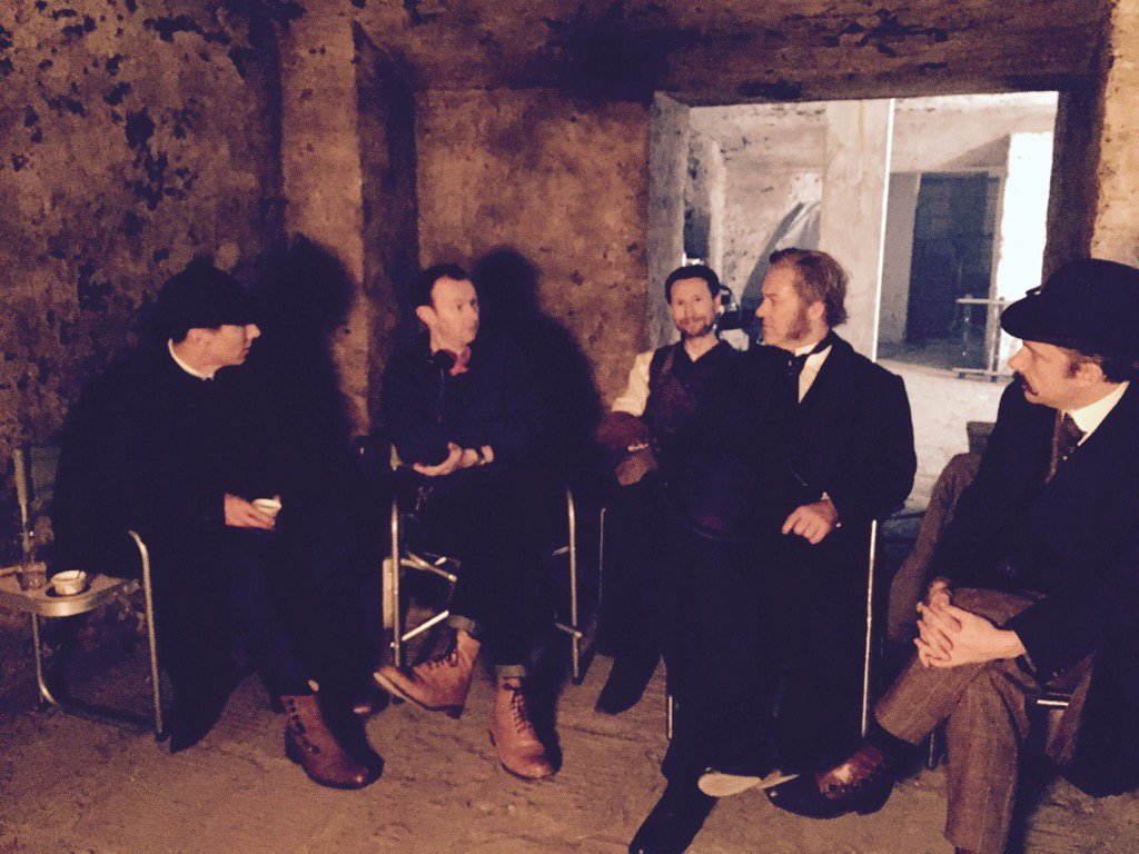 A year ago today..First day of filming #theabominablebride https://t.co/uNTC4j0hDr