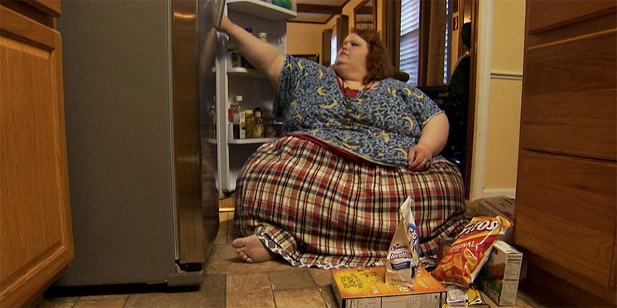 Nikki Webster talks about battling her body on the new season of @TLC's 'My 600-Lb Life'