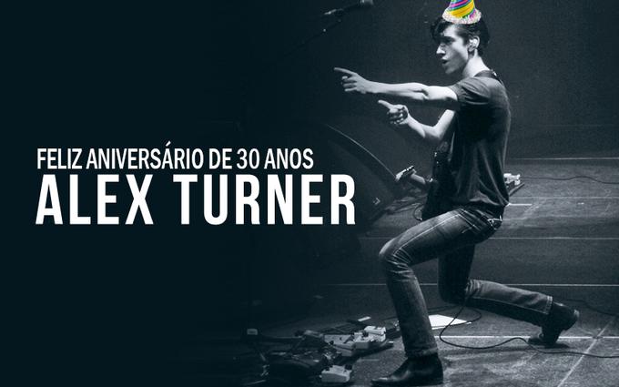 Alex Turner chegou na casa dos 30! PARABÉNS! HAPPY BIRTHDAY!