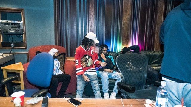 Coolin and Vibin w/ the bros @iHipsterLee @Jxmmi in the studio , #SremmLife2 https://t.co/v3vsBuJIrv