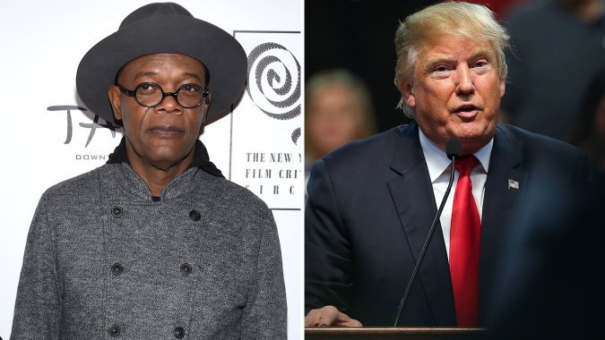 .@SamuelLJackson: Bill Clinton can vouch that I know Donald Trump