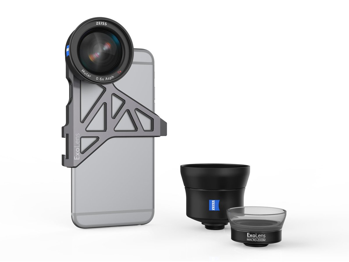 Together with Fellowes we present to you the ExoLens mobile phone lenses w/ ZEISS optics > https://t.co/vgEb9Bcg9H https://t.co/pNyjK7ypGu