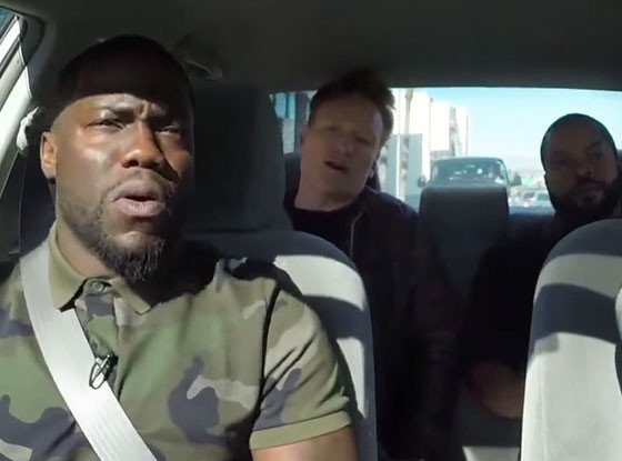 Ice Cube + Kevin Hart + Conan O'Brien = ideal driving instructors: