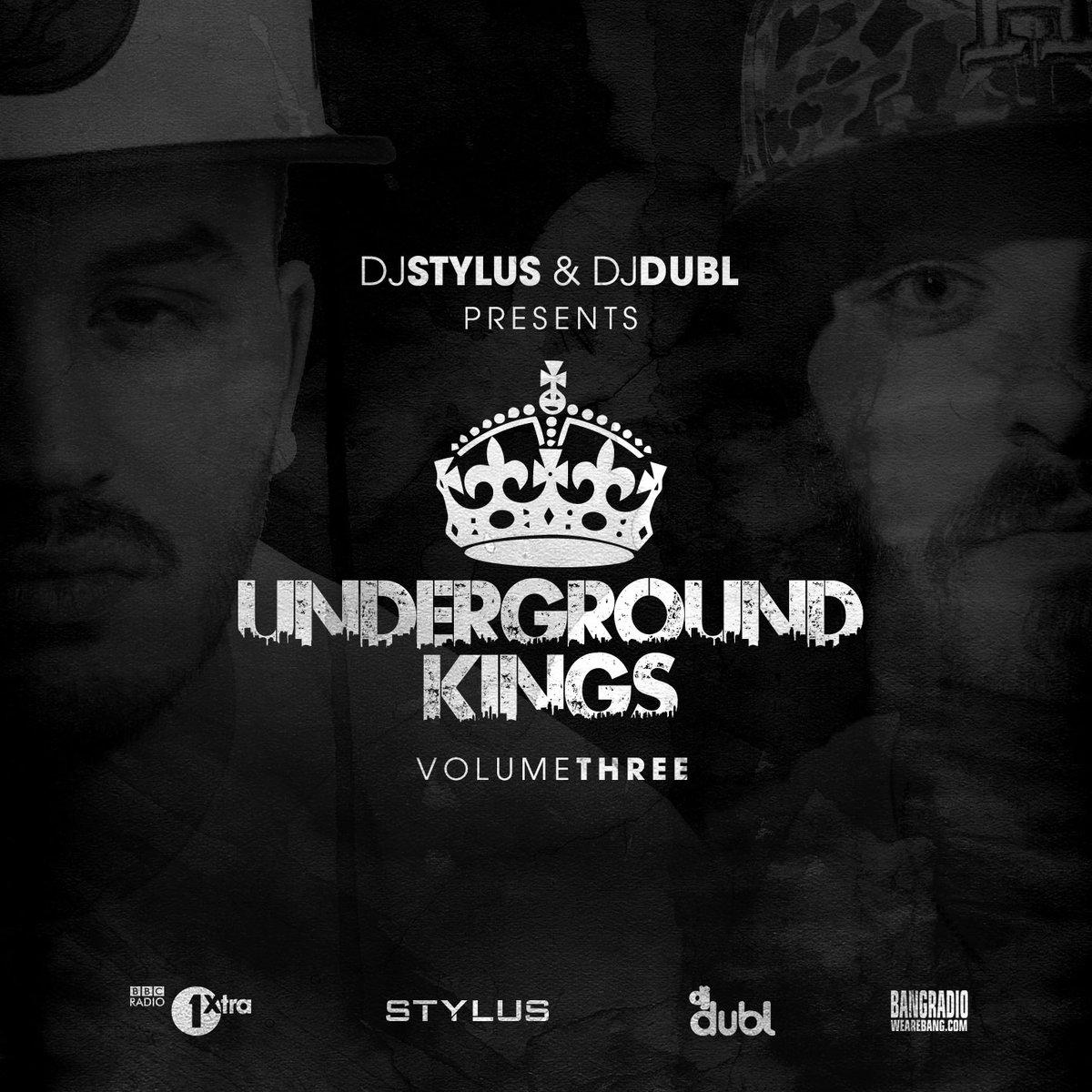 OUT NOW!  @DJDUBL & @DJStylusUK #UndergroundKings3  Stream-  https://t.co/PG1221gGkK DL-  https://t.co/DhJha8zH1z https://t.co/8xtfVNGzjl