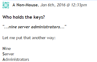 Dammit, this is an amazing comment on my story about Chaum's new encryption thing. https://t.co/0DjOgMAtsA https://t.co/Ba37C45Rlm