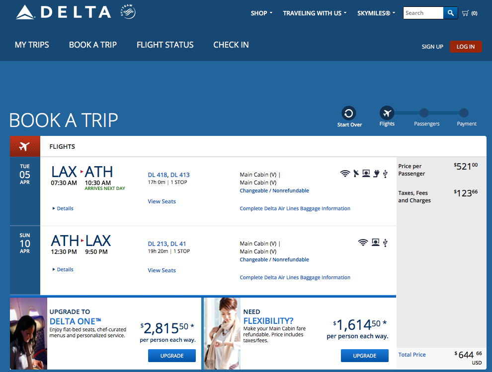RT @airfarewatchdog: LAX-Athens spring travel on Delta $644 RT
