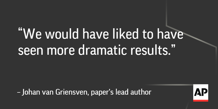 Study shows Ebola survivors' blood didn't help patients in Guinea: