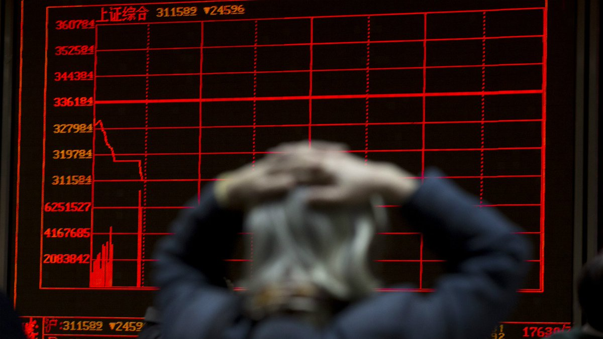 Chinese stock market halted for second time in a week