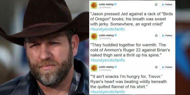 This #bundyeroticfanfic tweetstorm makes me wish there were Twitter Pulitzers. https://t.co/gLoEu2mksV https://t.co/zPtjJGeuOh