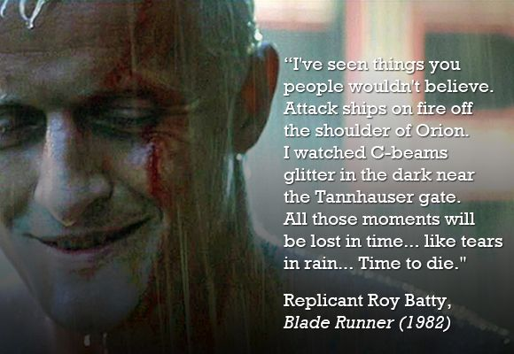 In Bladerunner world, tomorrow is inception date for Roy Batty. Happy birthday, Roy. Enjoy your 4 years https://t.co/8DVJYgtDjT