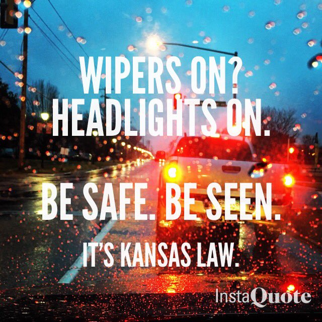 Raining on your commute? Turn on your headlights. It's not just for you, it's for the cars around you. https://t.co/4cYehJn14M