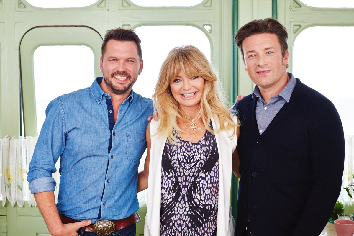 Goldie Hawn joins me and @jimmysfarm on tonights #FridayNightFeast! @Channel4 8pm https://t.co/NpeGGvS6AN
