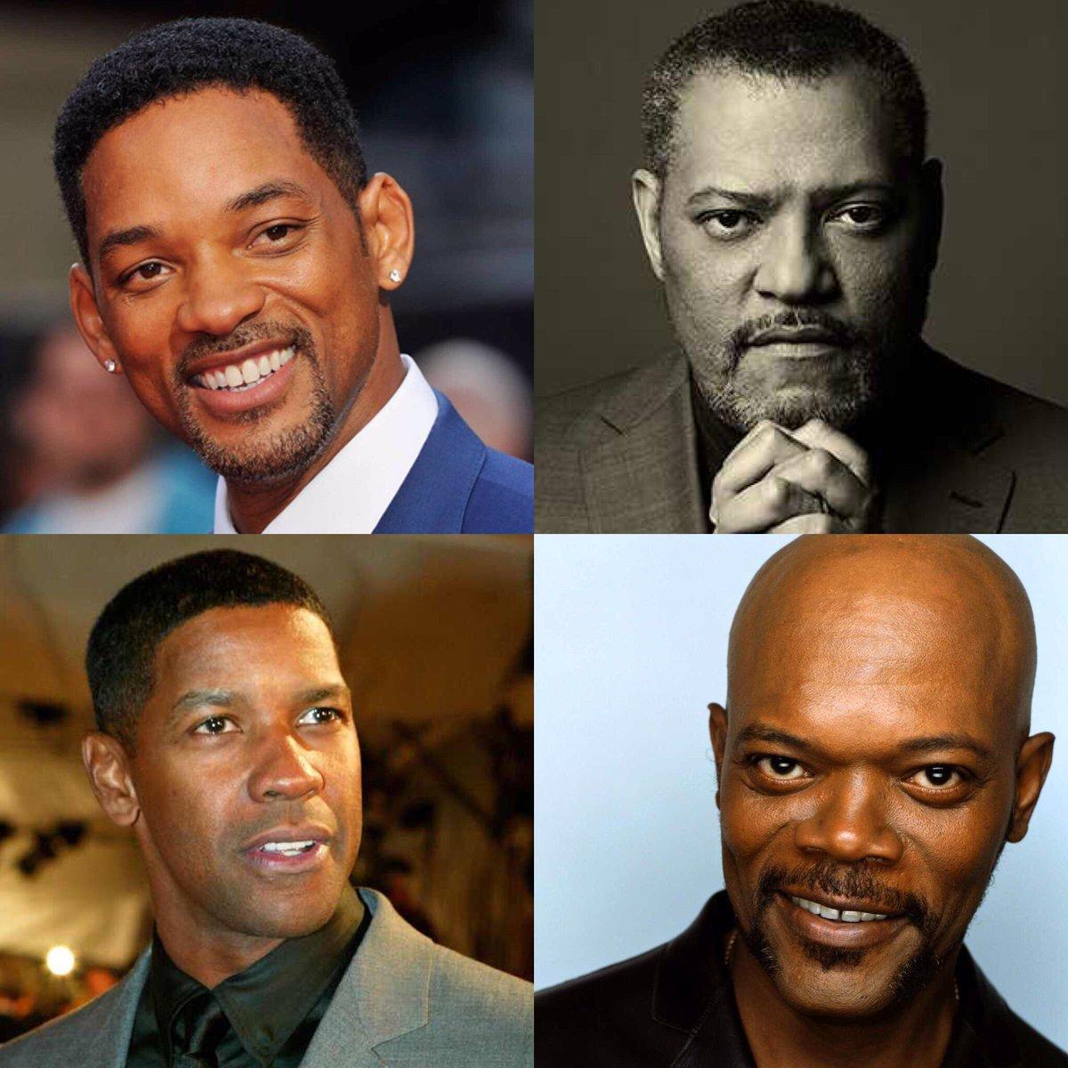 One Gotta Go: Denzel Washington, Samuel L. Jackson, Will Smith, Laurence Fishburne?