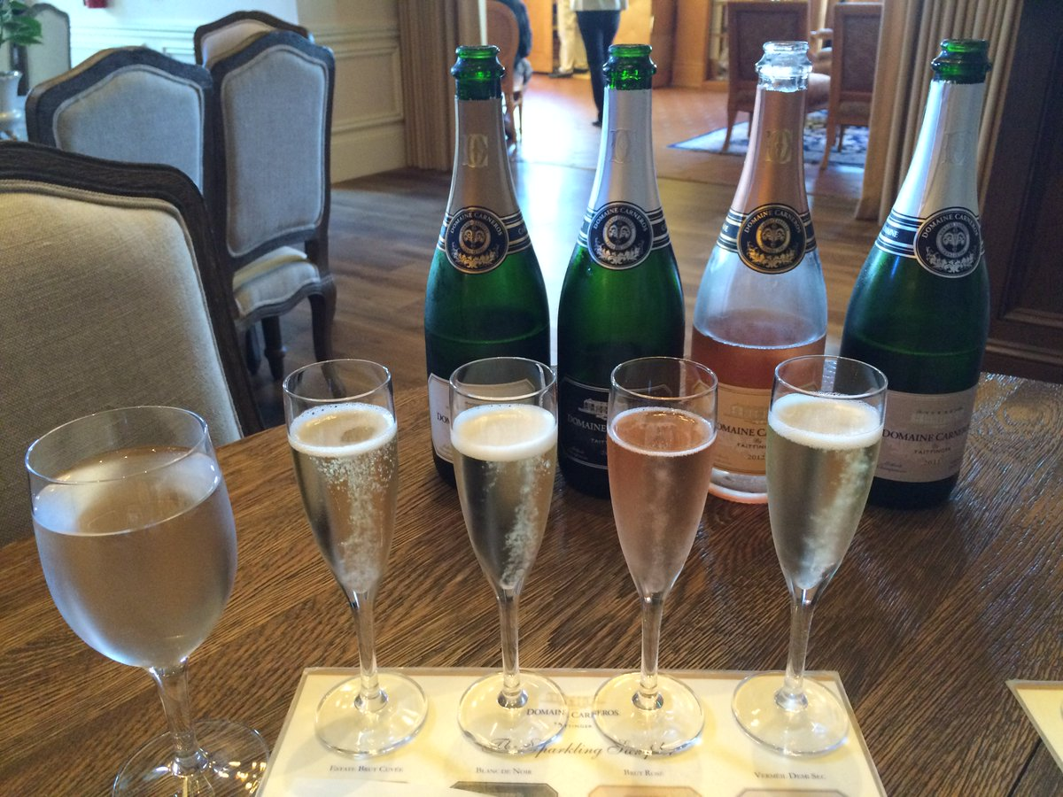 It's about hospitality, experience & quality of sparkling #wine at #Napa's @domainecarneros: https://t.co/0rNO3sdvYE https://t.co/1yVJoXASh9