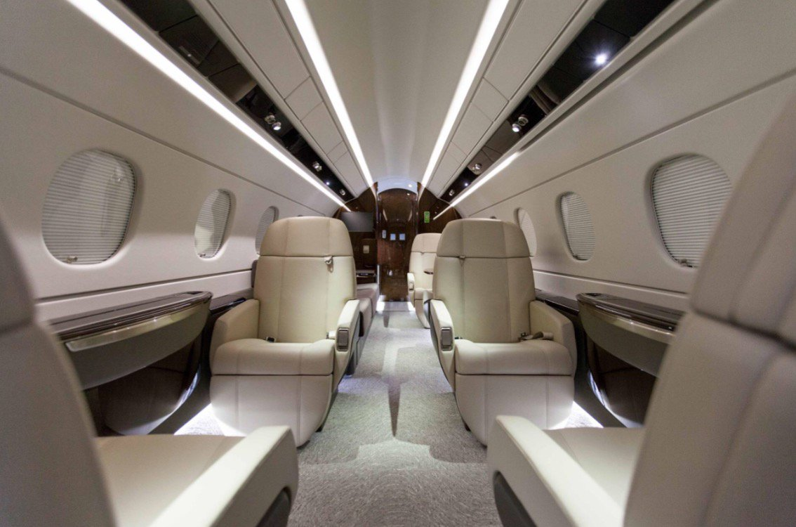 Our Legacy 500 PrivateJet offers our customers premium travel experience! For more info: