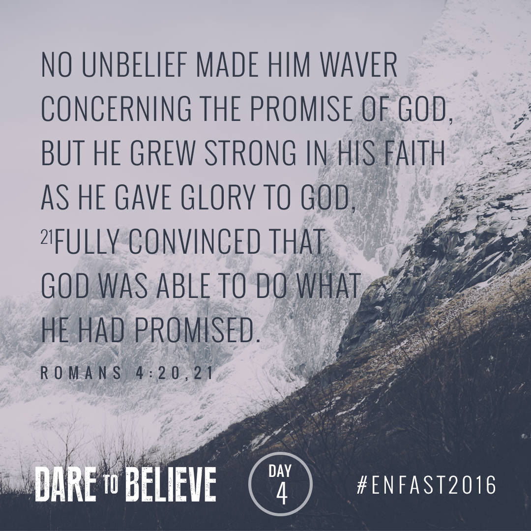 Have you taken time to seek God today? #ENfast2016 https://t.co/QJNzxVapEE