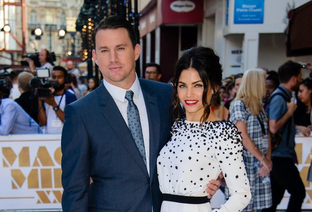 Woah! Jenna Dewan and Channing Tatum as you've NEVER seen them before...