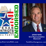 """RT @ """"We enthusiastically endorse Steve Toth for Congress! #thewoodlands #txlege @Toth_4_Texas https://t.co/wHdAlEFFRm"""""""