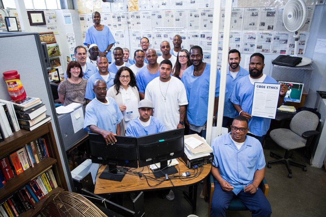 Meet the Professional Journalists of San Quentin Prison: https://t.co/ioevM9pMDI By @nancymullane / @TheLifeoftheLaw https://t.co/MW6kjK3H9F