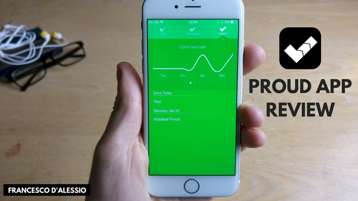 New Video: Finally... my @UseProud review - a new task manager for iPad and iPhone! #tech https://t.co/K7CEoOtLM9 https://t.co/77XioeA67O
