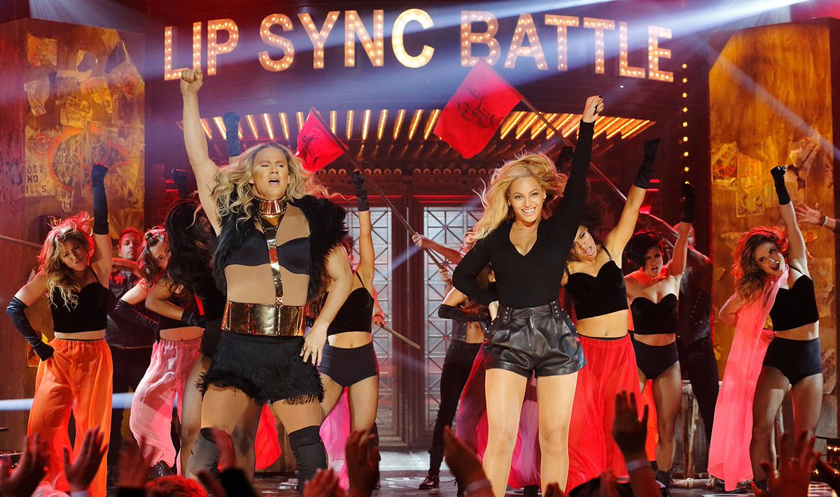 Watch Beyonce Team With Channing Tatum for 'LipSyncBattle'