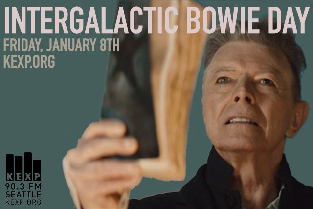 Good Morning! It's Intergalactic Bowie Day! Expect David Bowie to be played throughout the day. https://t.co/DsEwVTrMqZ