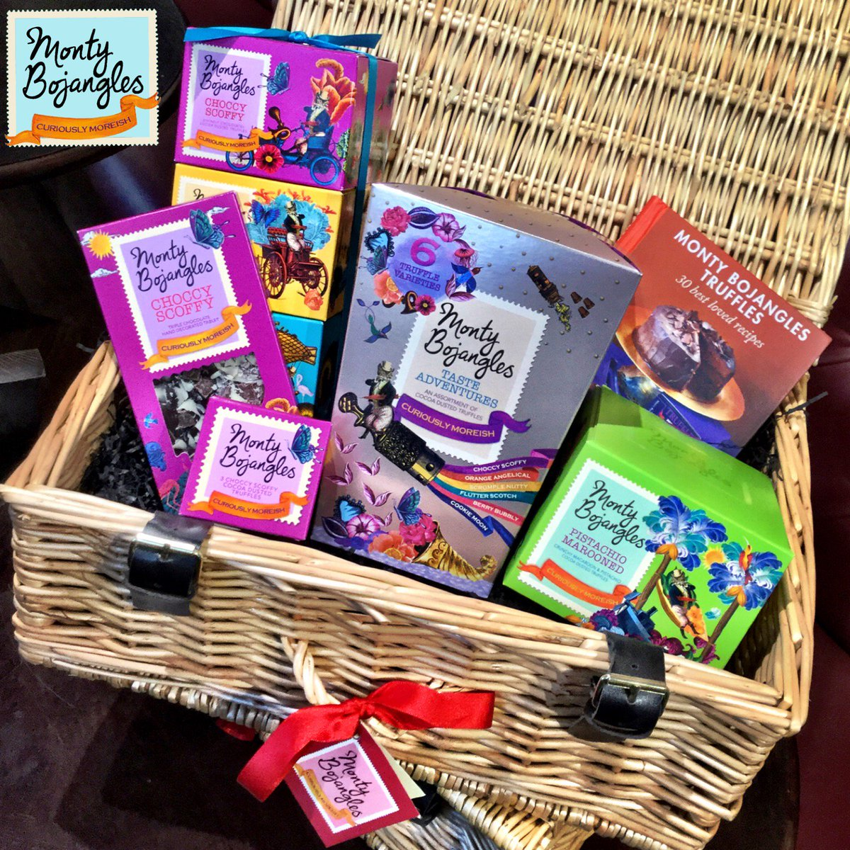 #JanuaryBlues? Let us help! RT & FOLLOW to enter. NEW #TasteAdventures Hamper #Giveaway #MontyBojangles end 13-01-16 https://t.co/33Ufbu8RvK