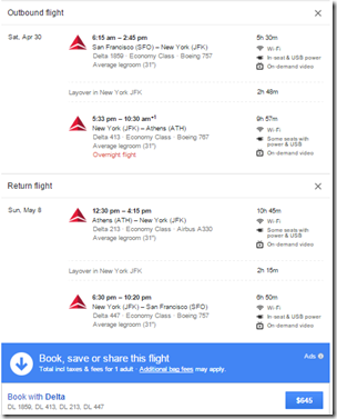 RT @boardingarea: Delta and United LAX $645-$675 round trip ... - via @LoyaltyTraveler