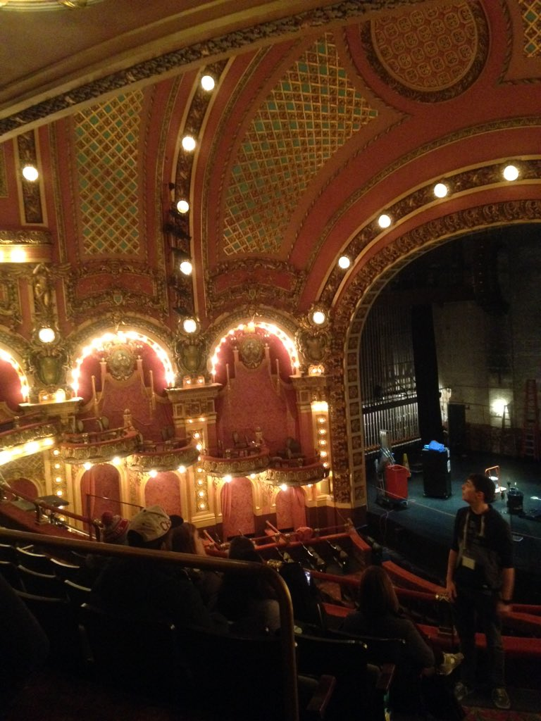 : ) MT @Lindsmshirk: Does your tour include sitting in a  theatre? It does at @EmersonCollege #Boston #civsaSDI2016 https://t.co/BvFkrPnEx0