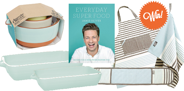 RT @TheHappyFoodie: Start 2016 off right by winning a bundle of @jamieoliver products! https://t.co/BSqS2oeWbO https://t.co/H6UcvD49Xu