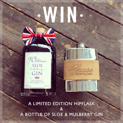 To #WIN a Chase Distillery hipflask and a bottle of Sloe & Mulberry @WilliamsGin head here https://t.co/7JU0lY1d5u https://t.co/LsZ0mtVemf